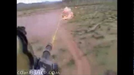 M134 Minigun in action