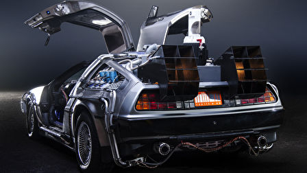 A DeLorean DMC-12