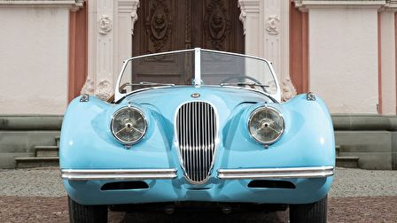 Jaguár XK120 Alloy Roadster