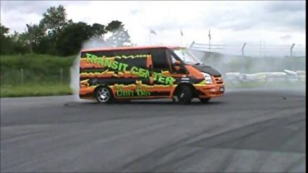 Ford Transit drift