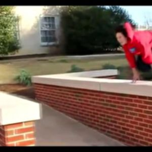 Parkour csaj