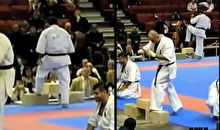 Karate fail