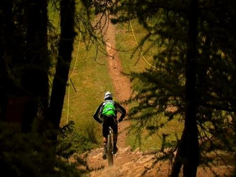 Freeride downhill