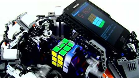 Galaxy s2 vs Rubik kocka