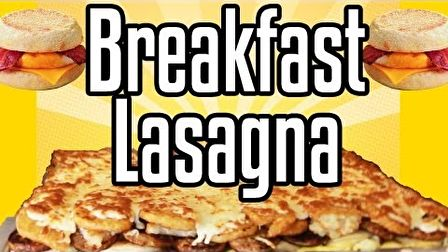 Breakfast Lasagna - Epic Meal Time