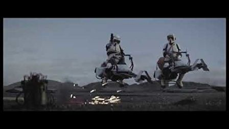 The Mandalorian - Scout Troopers Scene