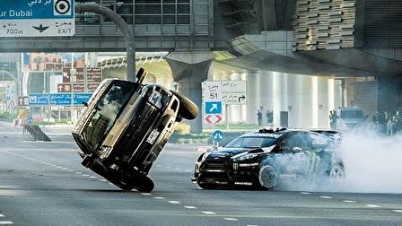 Ken Block most Dubajban tolja