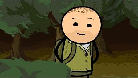 Cyanide  Happiness - Ted Bear