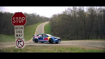 Travis Pastrana - 2013 Dodge Dart Rally Car