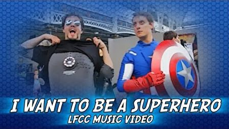 Comic Con - I Just Want To Be a Superhero