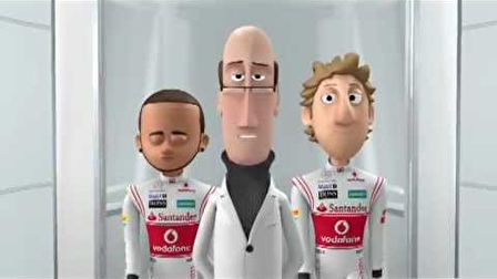 McLaren Tooned animation. Episode 02: Slicks