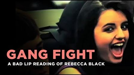 Rebecca Black - Gang Fight
