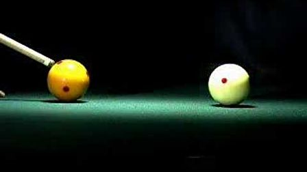 Billiard Super Slow Motion
