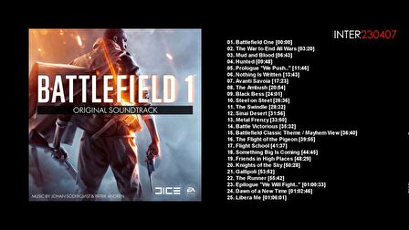 Battlefield 1 - Full Original Soundtrack 4K