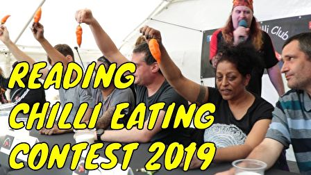 Reading Chilli Festival - Chili Eating Contest - Saturday 15th June 2019