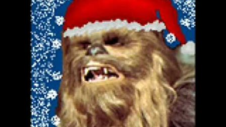 Chewie singing christmas song...