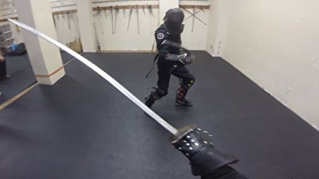 Expert saber sparring: Lee Smith vs Richard Marsden