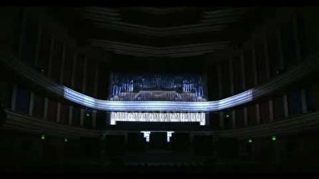 Hungarian Palace of Arts- projection mapping