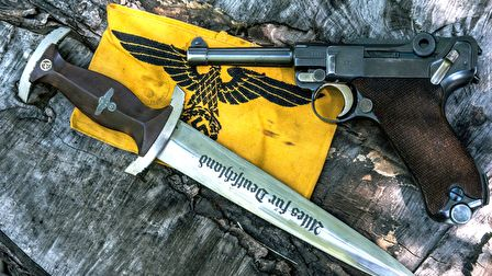A Luger P08 pisztoly