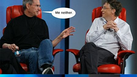Bill Gates & Steve Jobs