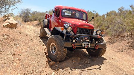 A Dodge Power Wagon