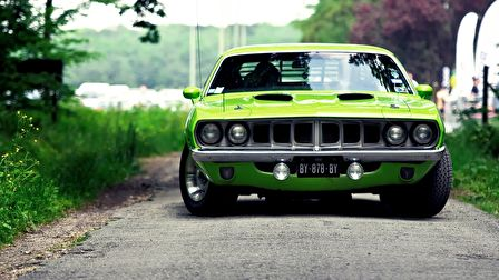 A Plymouth Barracuda