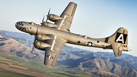A B-29 Superfortress