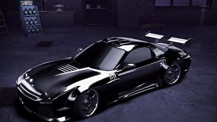 NFS Carbon Car Modells