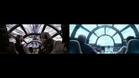 STAR WARS 1977 vs 2015