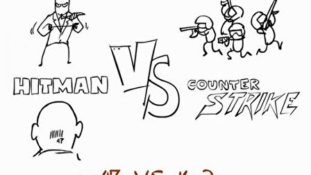 Hitman vs Counter Strike