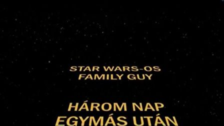 Star Wars-os Family Guy
