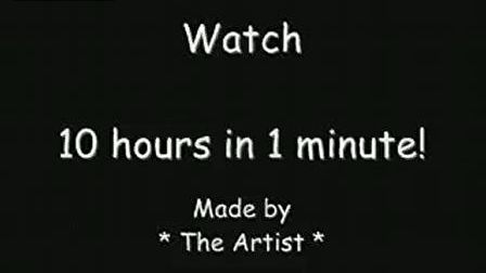10 Hours Of Art In 1 Minute