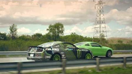 2nd Shift Drift -  The Ford Mustang Factory Drift
