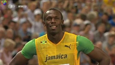 Usain Bolt 200m World Record: 19,19s