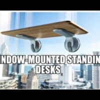 Window-Mounted Standing Desks - Deskview