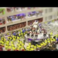 Tilt-shift time lapse