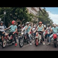 MOPEDMETAL 2015 - Ride in the city