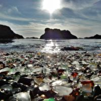 Glass Beach - Üvegpart