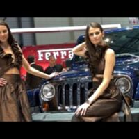 GIRLS of the 2013 Geneva Motor Show