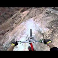 Downhill Mountain Bike fejkamera